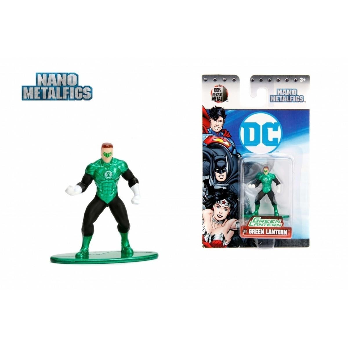Nano Metalfigs: Lanterna Verde: DC Comics (DC11) - Jada Toys