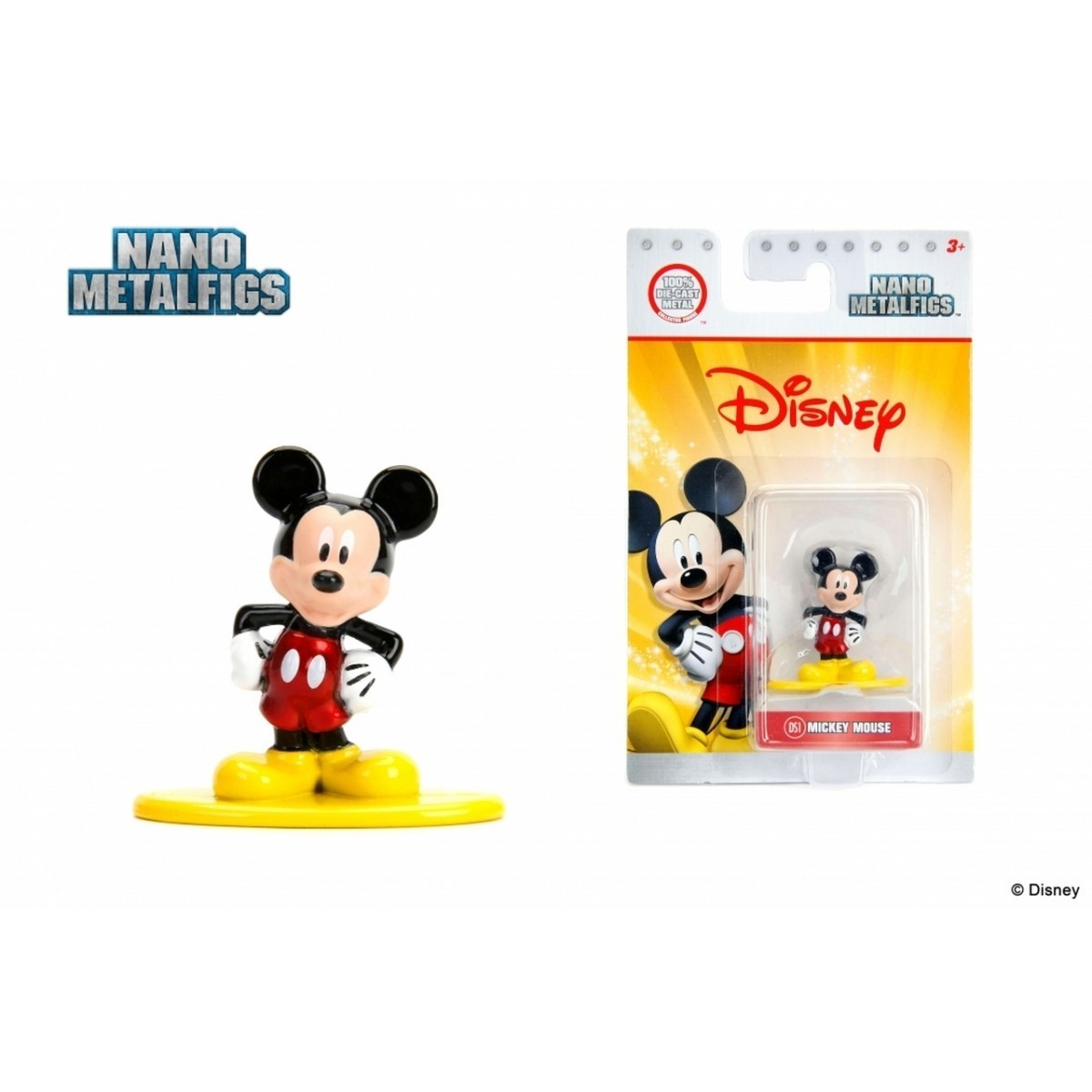 Nano Metalfigs: Mickey Mouse: Disney (DS1)