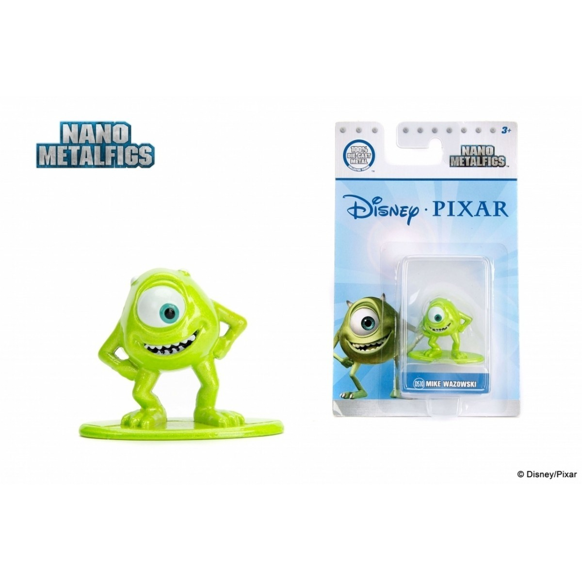Nano Metalfigs: Mike Wazowski: Disney (DS10)