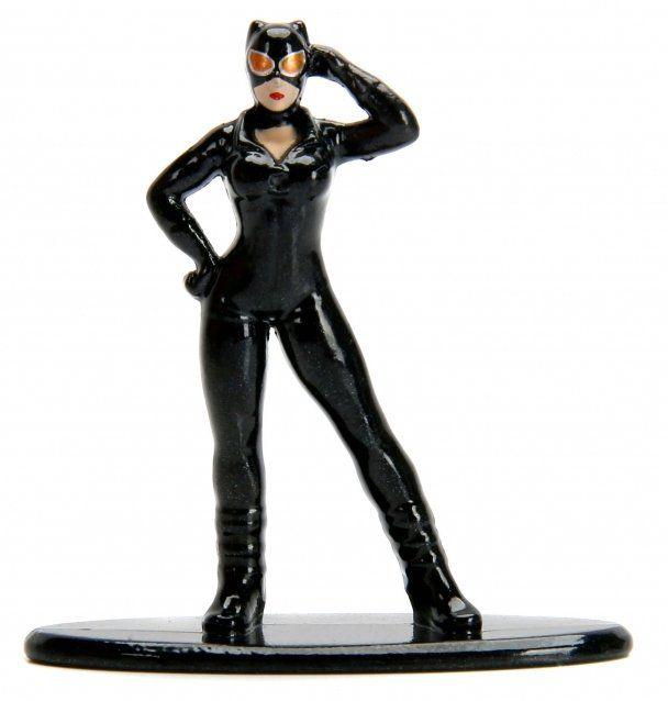 Nano Metalfigs Mulher Gato (Catwoman): DC Comics (DC44) - Jada Toys