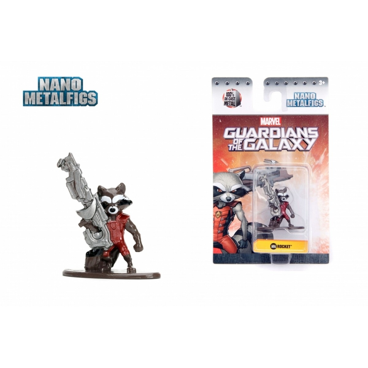 Nano Metalfigs: Rocket Raccoon: Marvel (MV6)