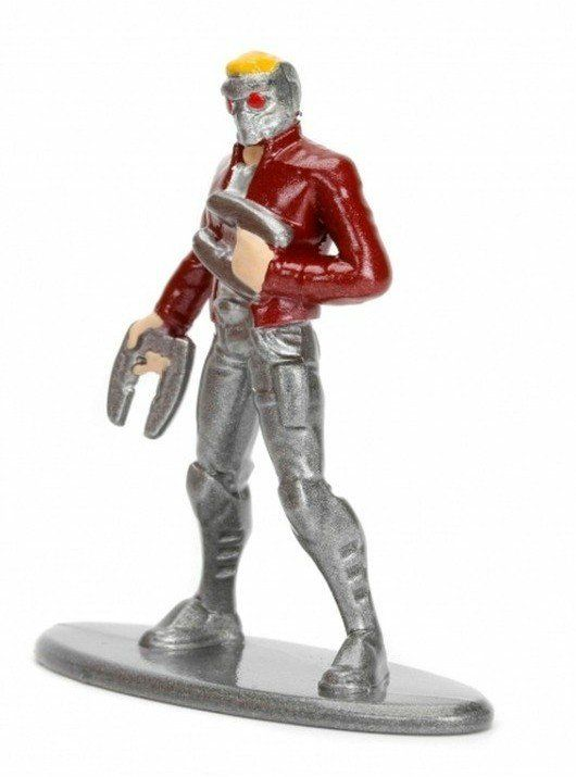 Nano Metalfigs: Senhor das Estrelas (Star-Lord): Marvel (MV5)