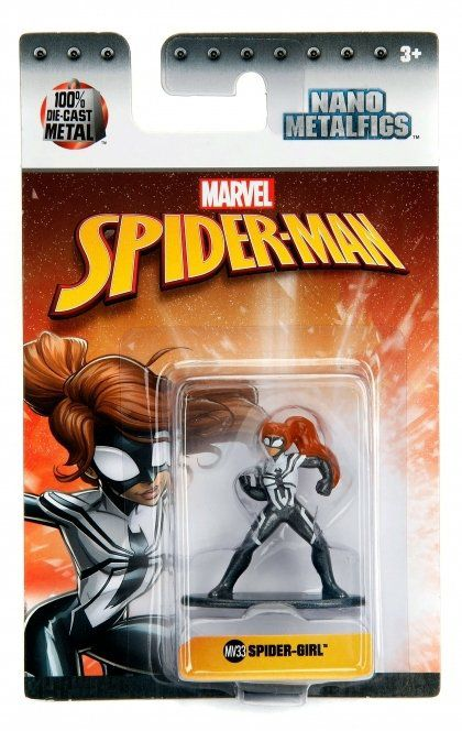 Nano Metalfigs Spider-Girl: Marvel Comics (MV33) - DTC