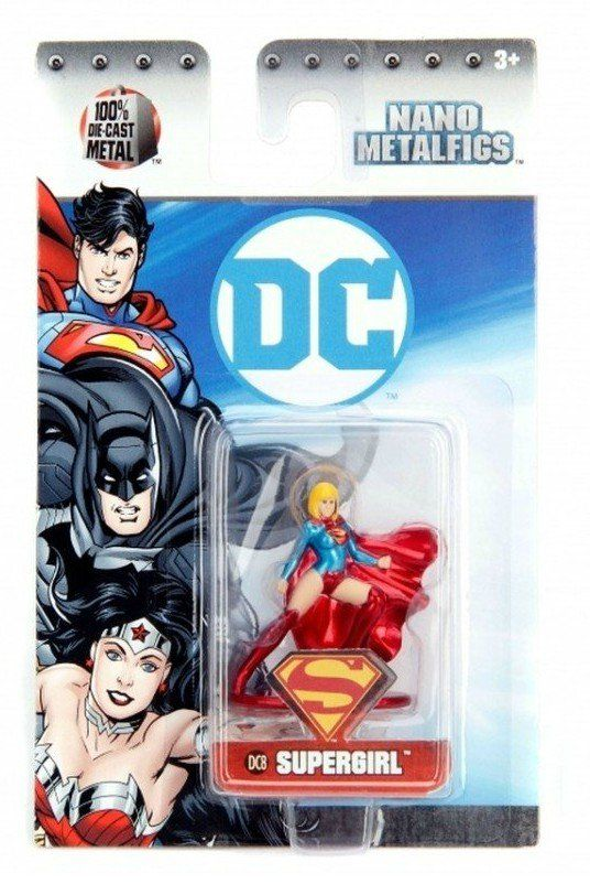 Nano Metalfigs: Supergirl: DC Comics (DC8) - Jada Toys