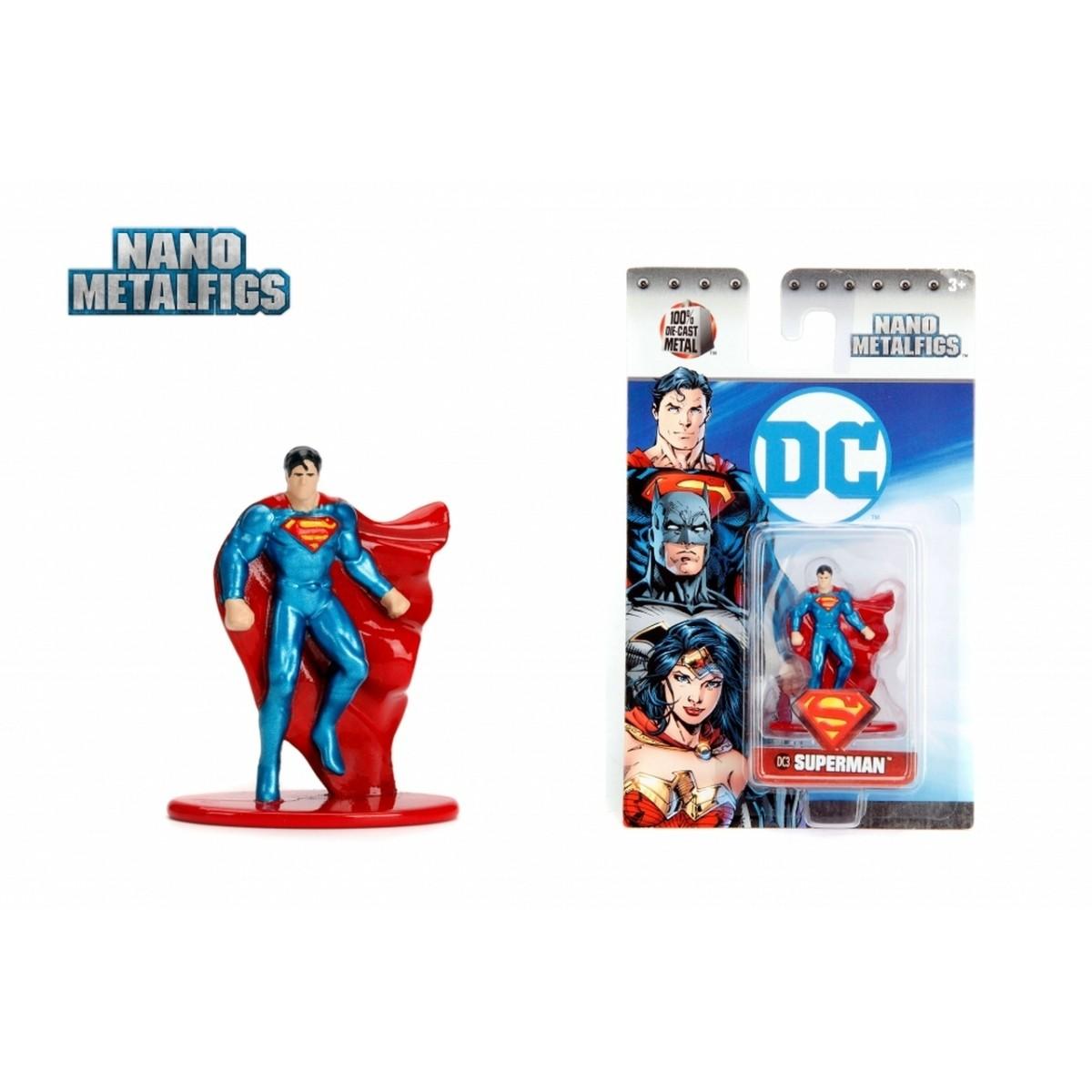 Nano Metalfigs: Superman: DC Comics (DC3) - Jada Toys