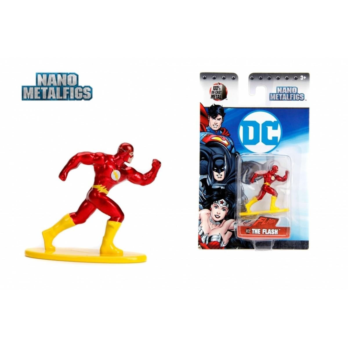 Nano Metalfigs: The Flash: DC Comics (DC22) - Jada Toys