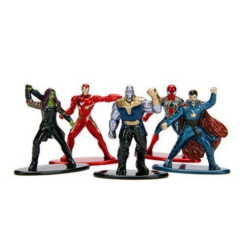 Nano Metalfigs: Vingadores Guerra Infinita (Avengers Infinity War) Marvel (Set de 5) - DTC
