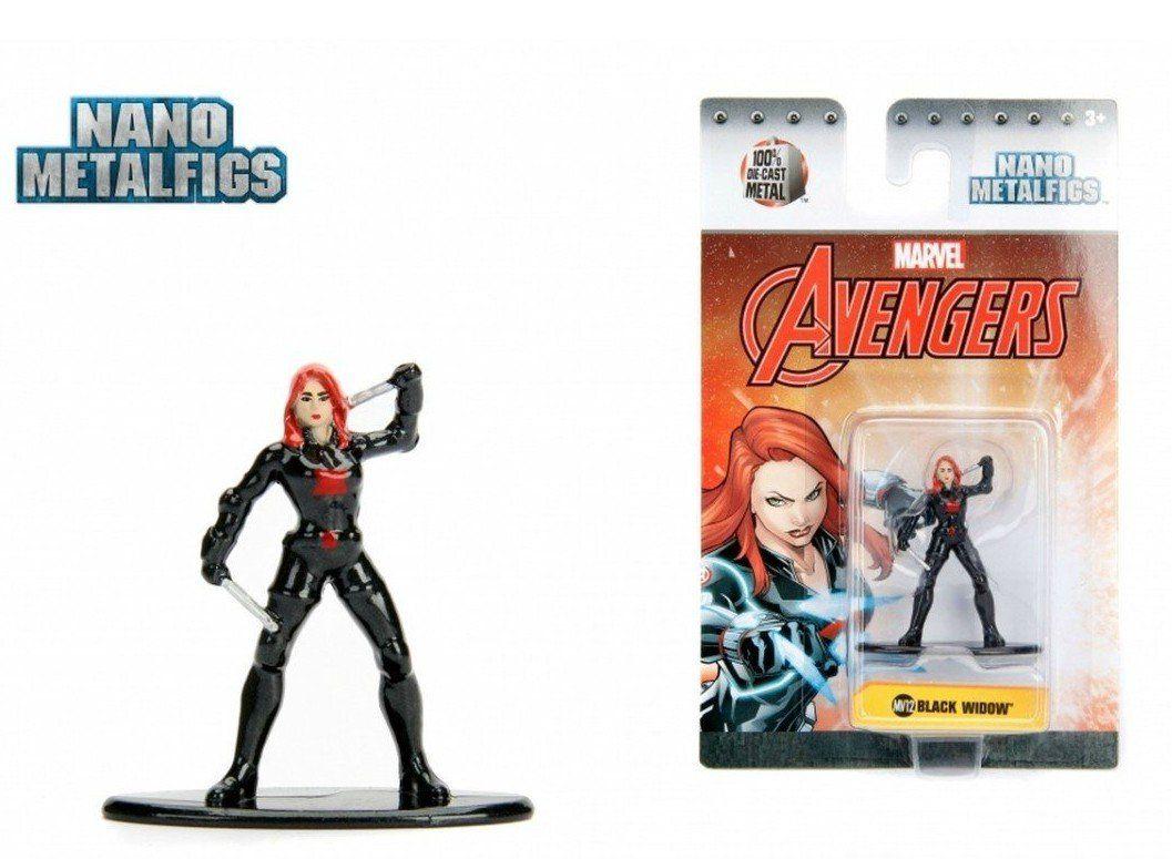 Nano Metalfigs: Viúva Negra (Black Widow): Marvel (MV12)