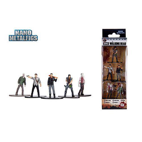 Nano Metalfigs Walking Dead (Set de 5) - DTC