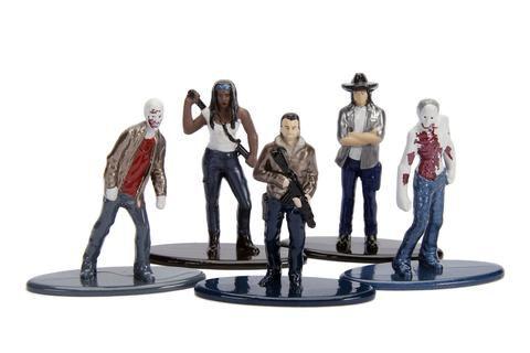 Nano Metalfigs Walking Dead (Set de 5) Pack II  - DTC