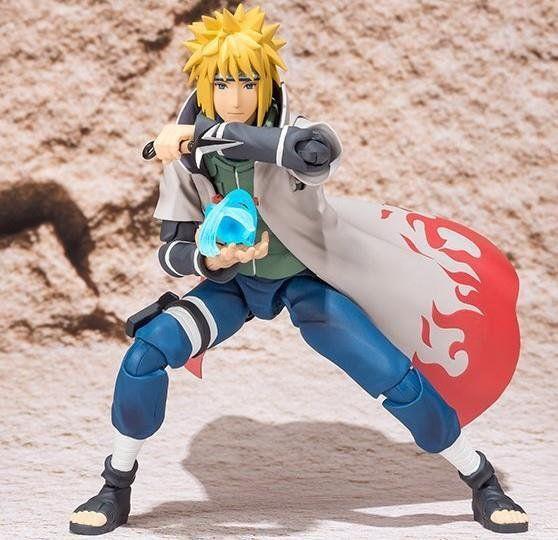 Naruto Shippuden Minato Namikaze S.H.Figuarts - Bandai