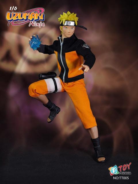 Naruto Uzumaki Ninja Escala 1/6 - TIT Toys