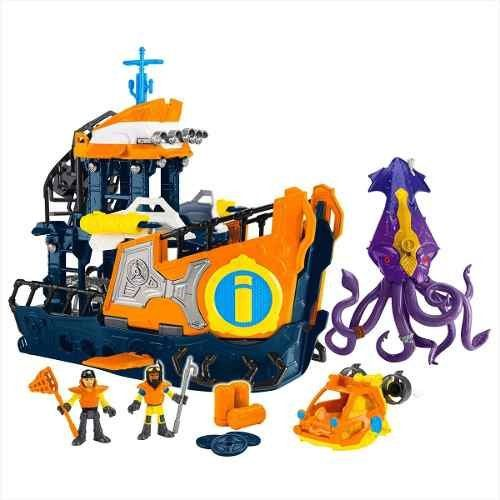 Navio Comando Submarino: Imaginext - Fisher Price