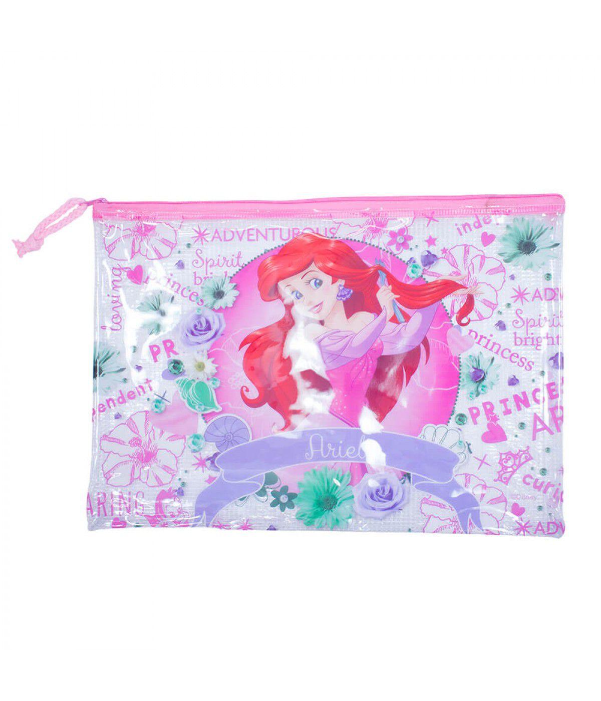 Necessaire Ariel: A Pequena Sereia - Disney (23x33)