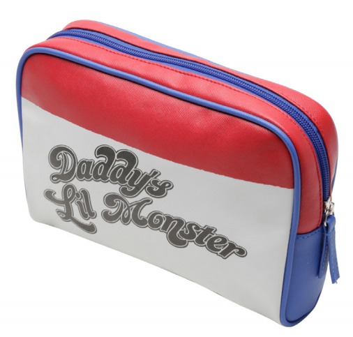 Necessaire Arlequina Harley Quiin (Daddy's Lil Monster): DC Comics
