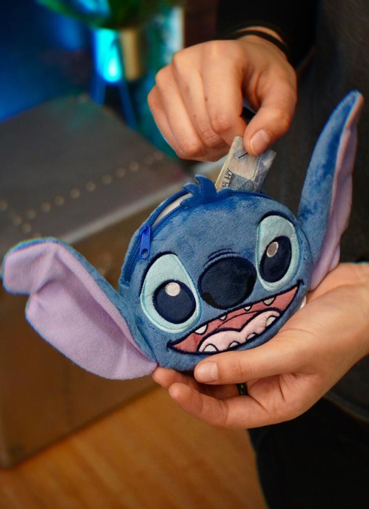 Necessaire/Bolsa Stitch Sorrindo Lilo & Stitch Disney (12x20)