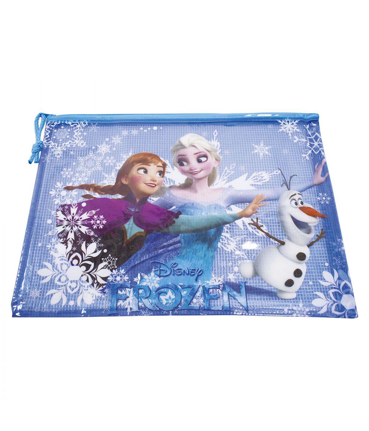 Necessaire Elsa e Anna: Frozen - Disney (23x33)
