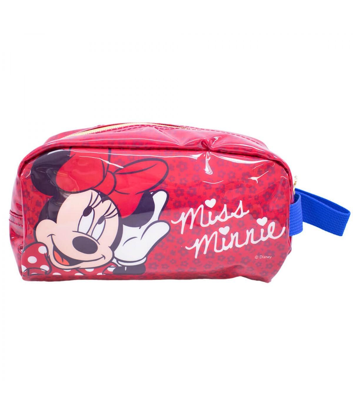 Necessaire Estojo Minnie Mouse: