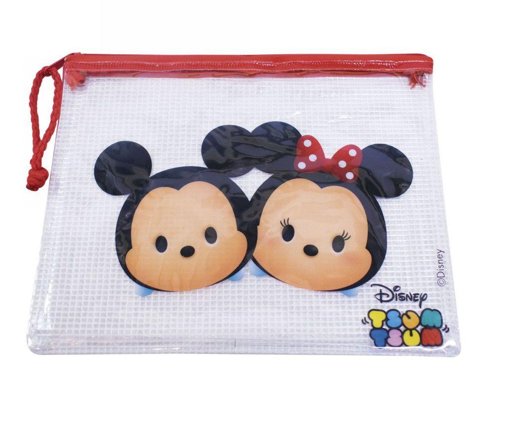 Necessaire Mickey e Minnie (Grande) 21x18: Disney