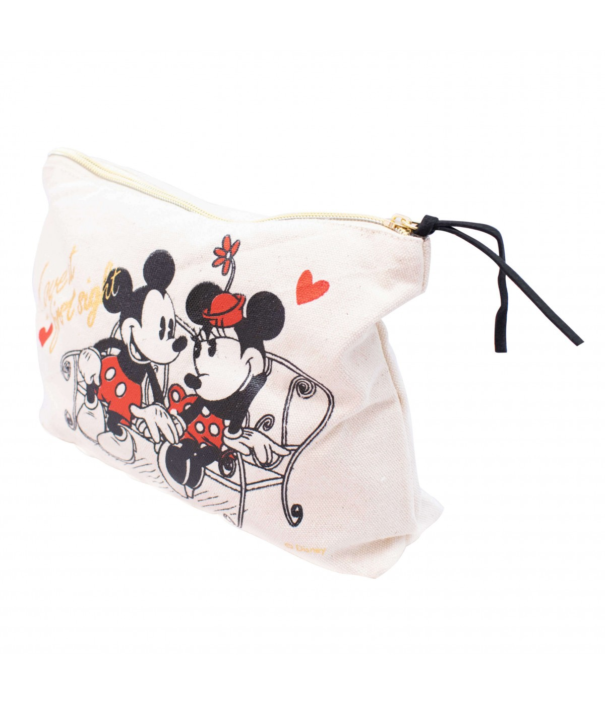 "Necessaire Mickey e Minnie Mouse ""Love At First Sight"" - Disney"