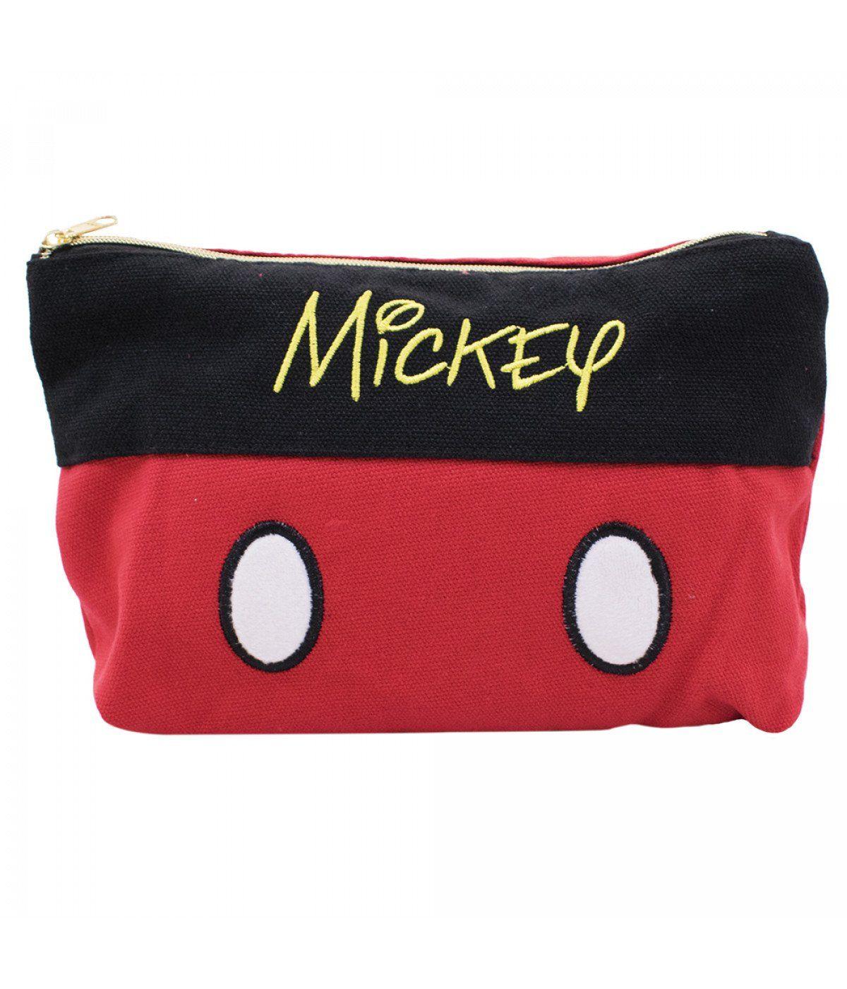 Necessaire Mickey Mouse Preto e Vermelho - Disney