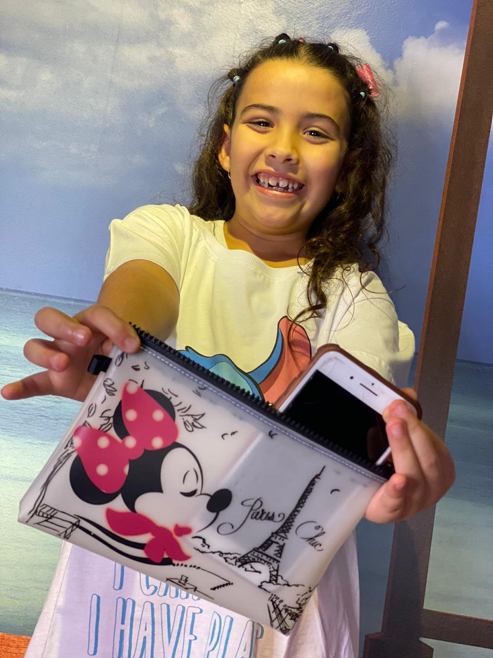Necessaire Minnie Paris Chic - DISNEY (Modelo 2)