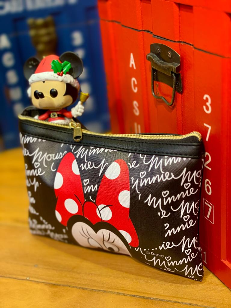 Necessaire Para Maquiagem Minnie: Mickey Minnie Mouse - Disney