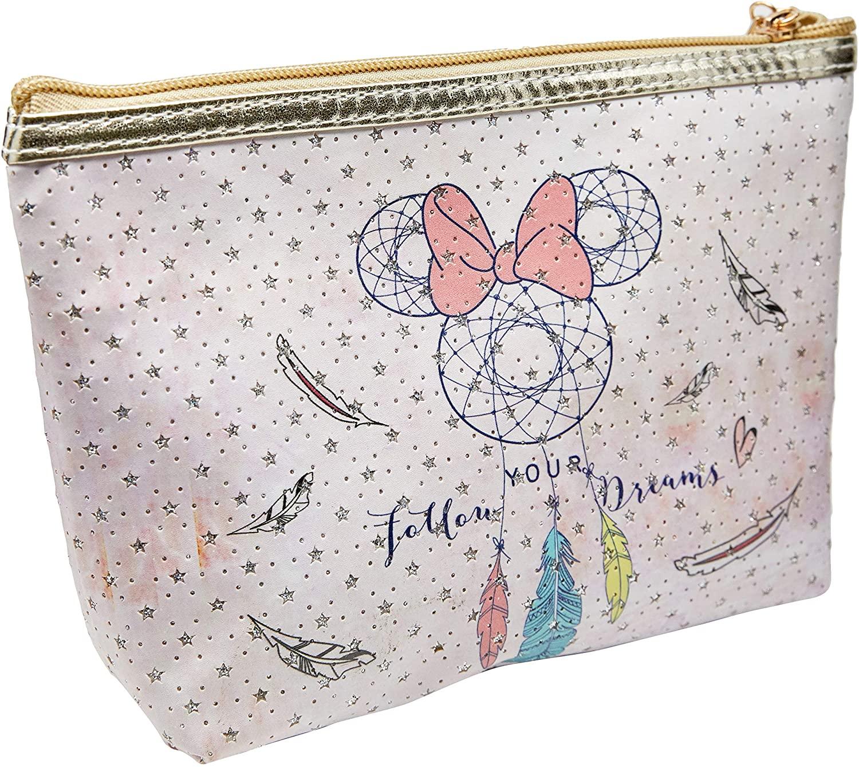 Necessaire Para Maquiagem Minnie Mouse: ''Follow Your Dream'' (Rosa) - Disney