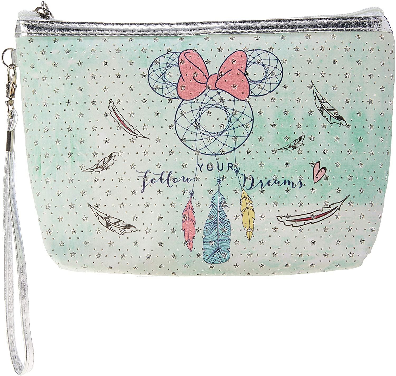 Necessaire Para Maquiagem Minnie Mouse: ''Follow Your Dream'' (Verde) - Disney