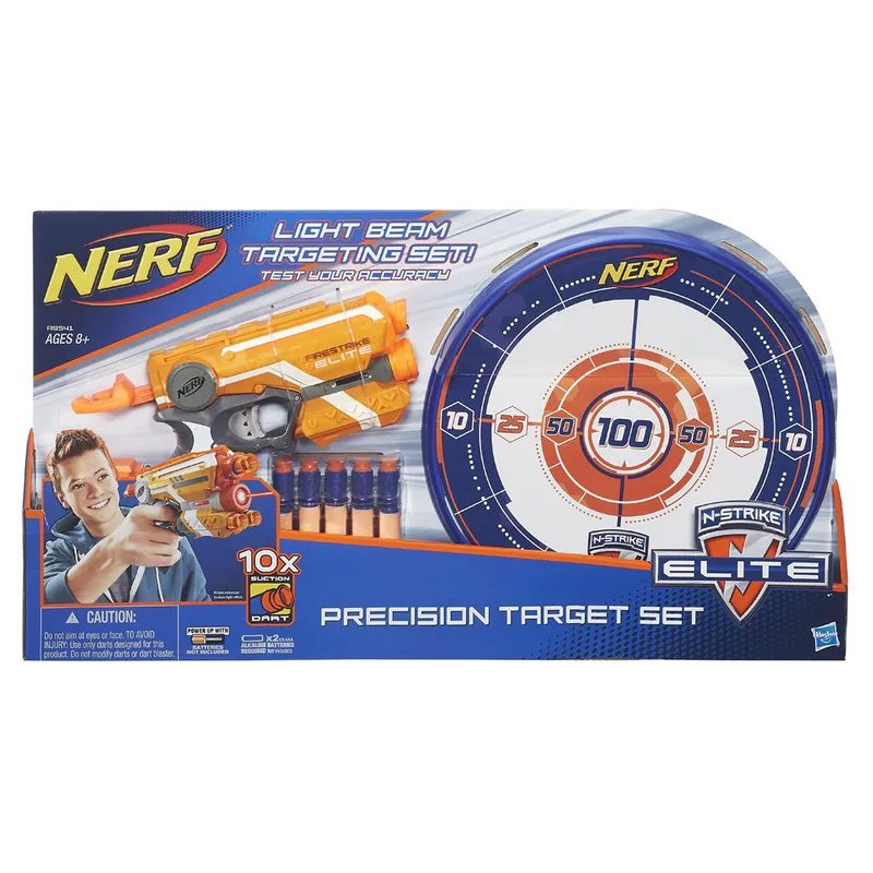 Nerf Elite N-strike Firestrike Elite (Com Alvo) - Hasbro