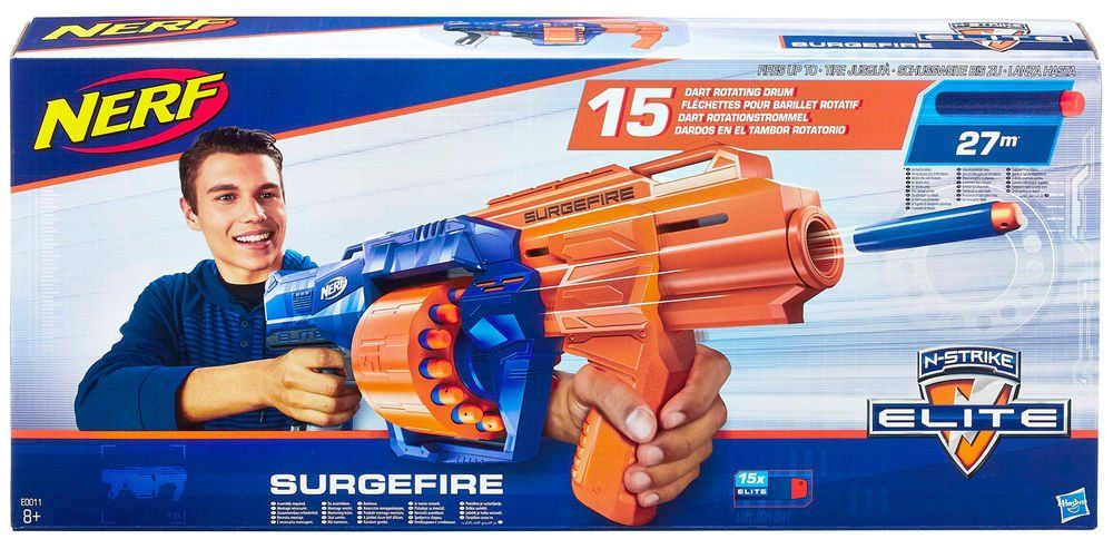 Nerf Elite Sugerfire (Lançador de Dardos) - Hasbro