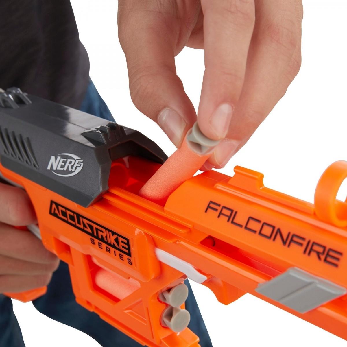 Nerf N-Strike Elite Falconfire: Accustrike Series (Lançador de Dardos)
