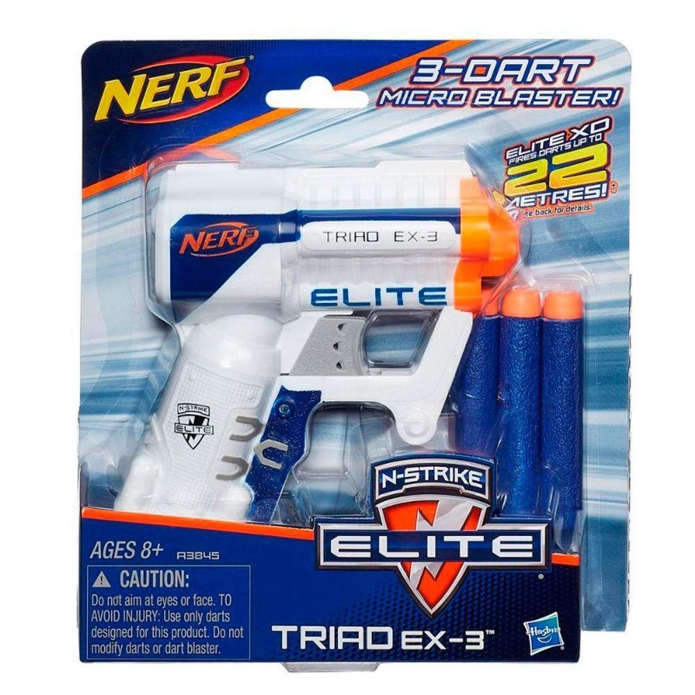 Nerf N-Strike Elite Triad EX-3 (Lançador de Dardos)