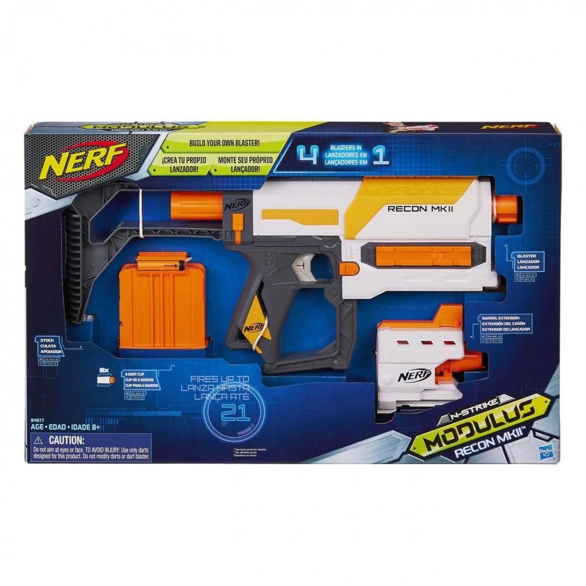 Nerf N-Strike Modulus Recon MKII (Lançador de Dardos)
