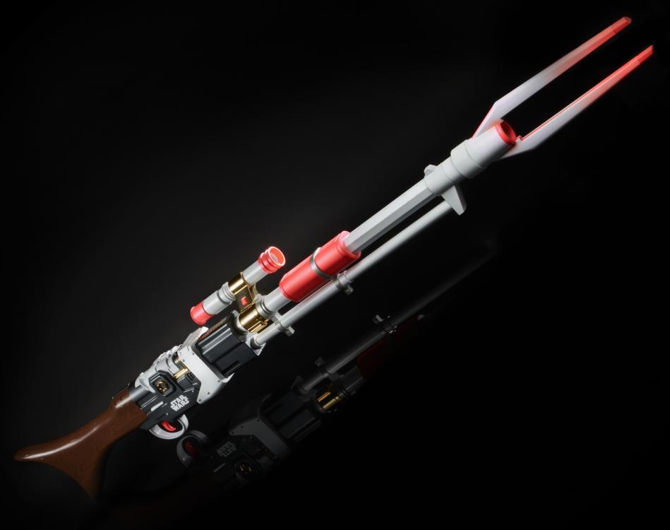 "Nerf Réplica Rifle Ambar - Blaster ""Amban Phase - Pulse Blaster"": O Mandaloriano ""The Mandalorian"" Star Wars - Hasbro"
