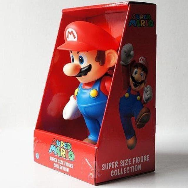 """New Super Mario Bros 9"""" Mario Galaxy - Nintendo"""