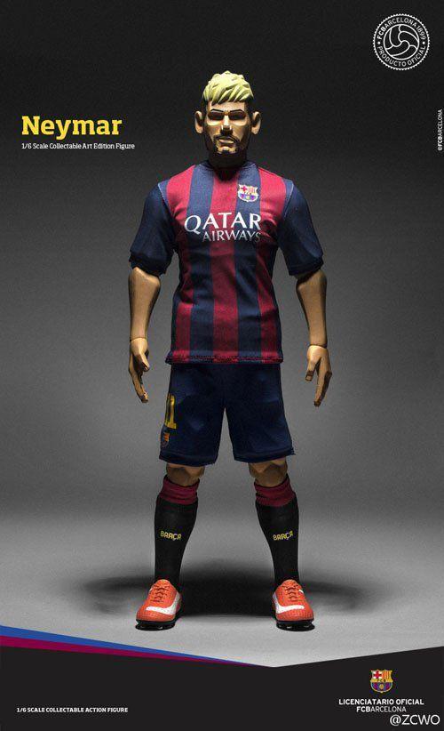Neymar Jr. FCBarcelona Soccer Figure Art Edition 1:6 - ZC World