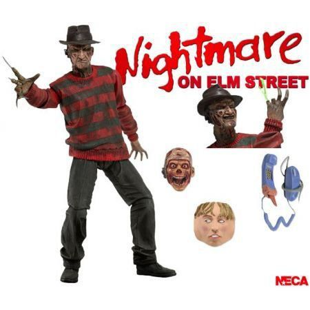 Action Figure Freddy Krueger Ultimate: Nightmare on Elm Street 30º Aniversário - Neca