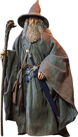 O Hobbit e a Batalha dos Cinco Exércitos: Gandalf Escala 1/6 - Asmus Toys