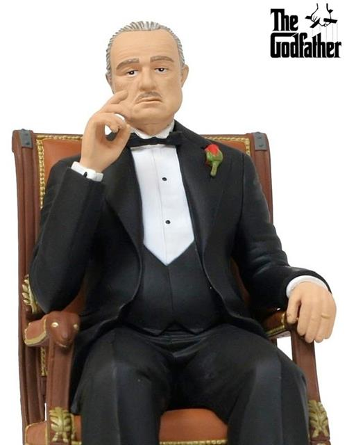 Estátua Vito Corleone: O Poderoso Chefão - SD Toys