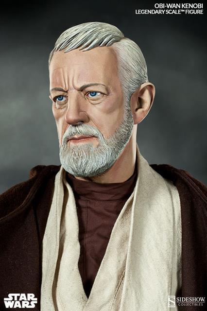Obi-Wan Kenobi Star Wars Legendary Estátua Escala 1/2 - Sideshow