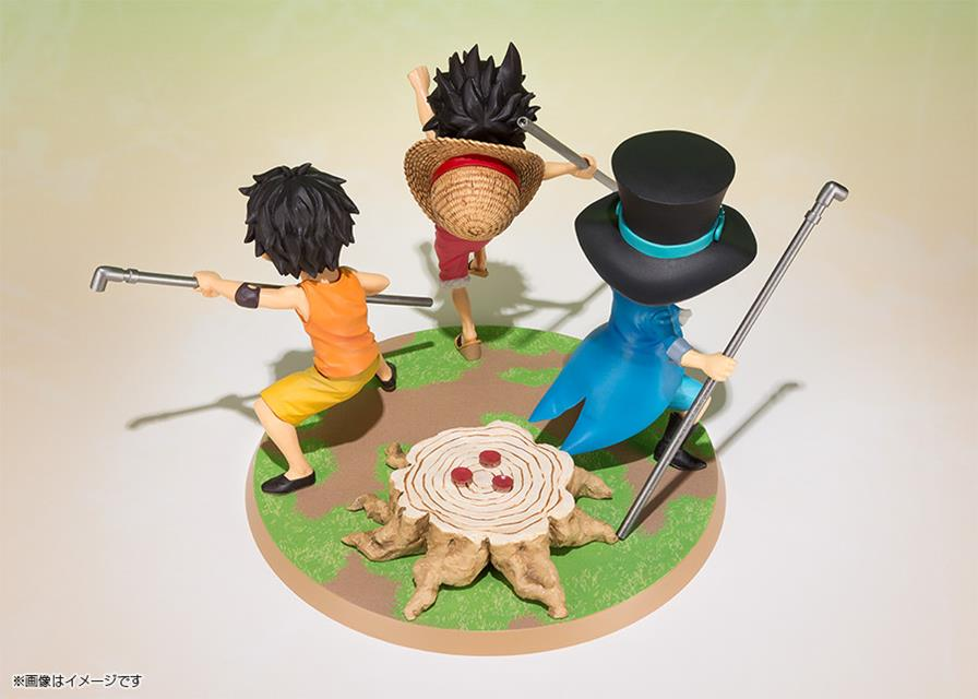 One Piece: Luffy, Ace e Sabo Brother Promise FiguartsZero - Bandai