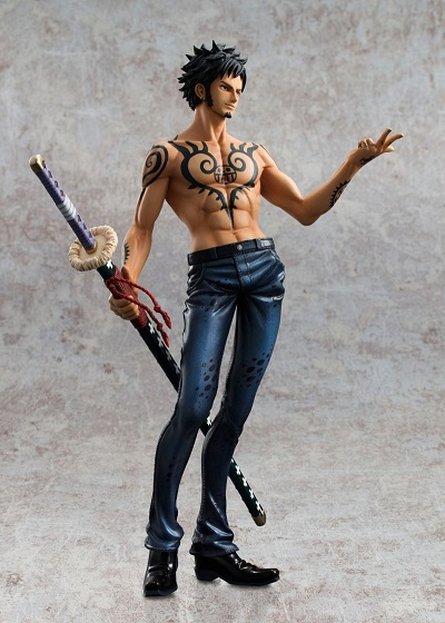 Estátua Trafalgar Law: One Piece Portrait of Pirates (P.O.P) (Versão 2.5) Escala 1/8 - MegaHouse - CD