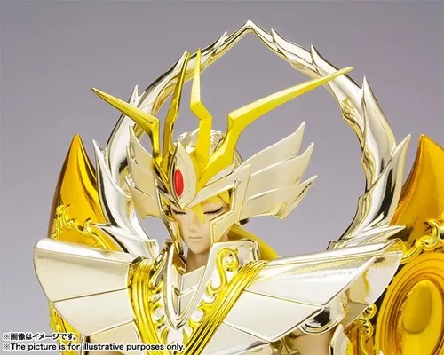 Action Figure Shaka de Virgem (Virgo Shaka) God Cloth: Os Cavaleiros do Zodíaco (Saint Seiya) Myth EX - Bandai