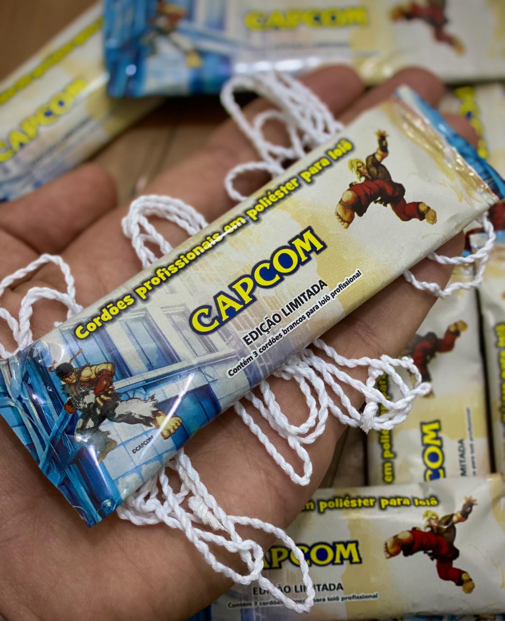 Pack 03 Cordas para Ioiô Profissionais em Poliéster Street Fighter V - Capcom