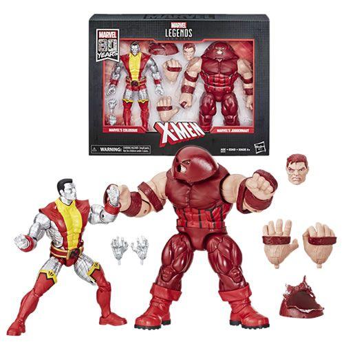 Pack Action Figure Colossus & Juggernaut : X-Men (Marvel Legends Series) - Hasbro