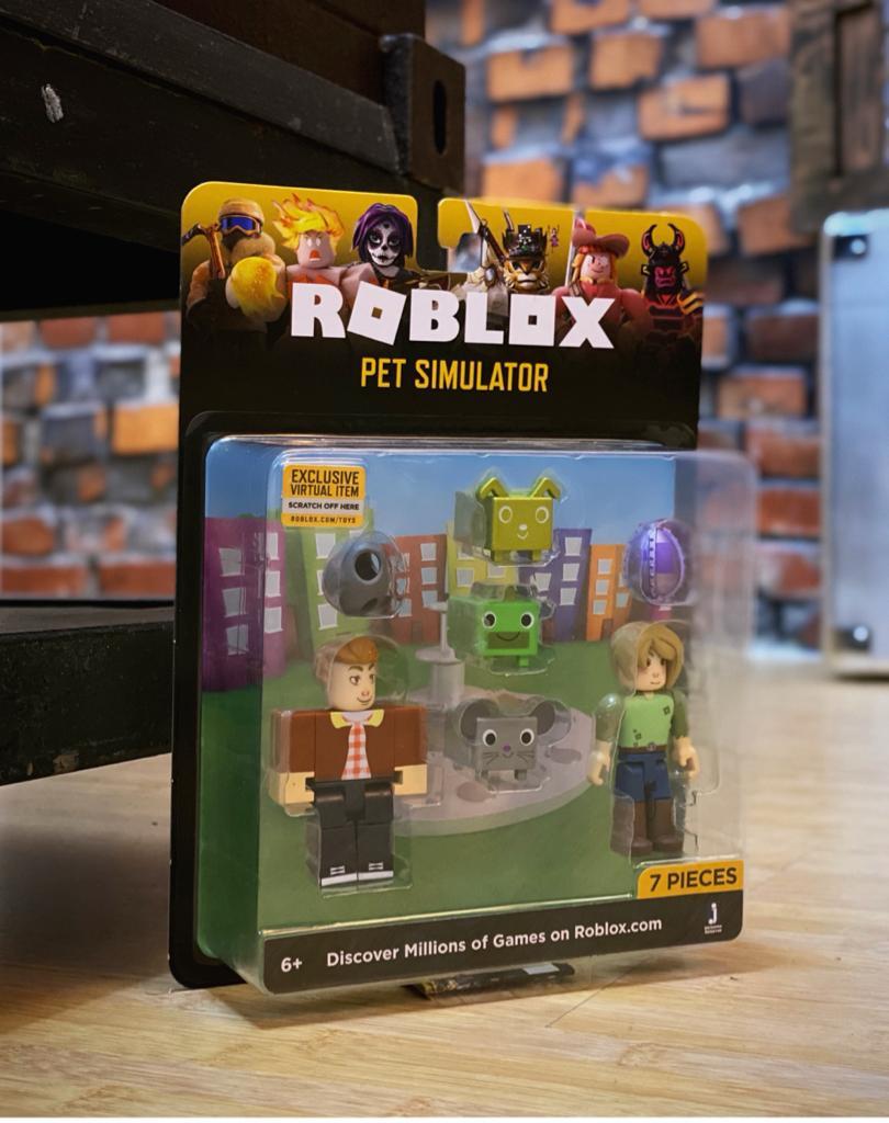 Pack Action Figure Pet Simulator: Roblox 7 Peças - Sunny