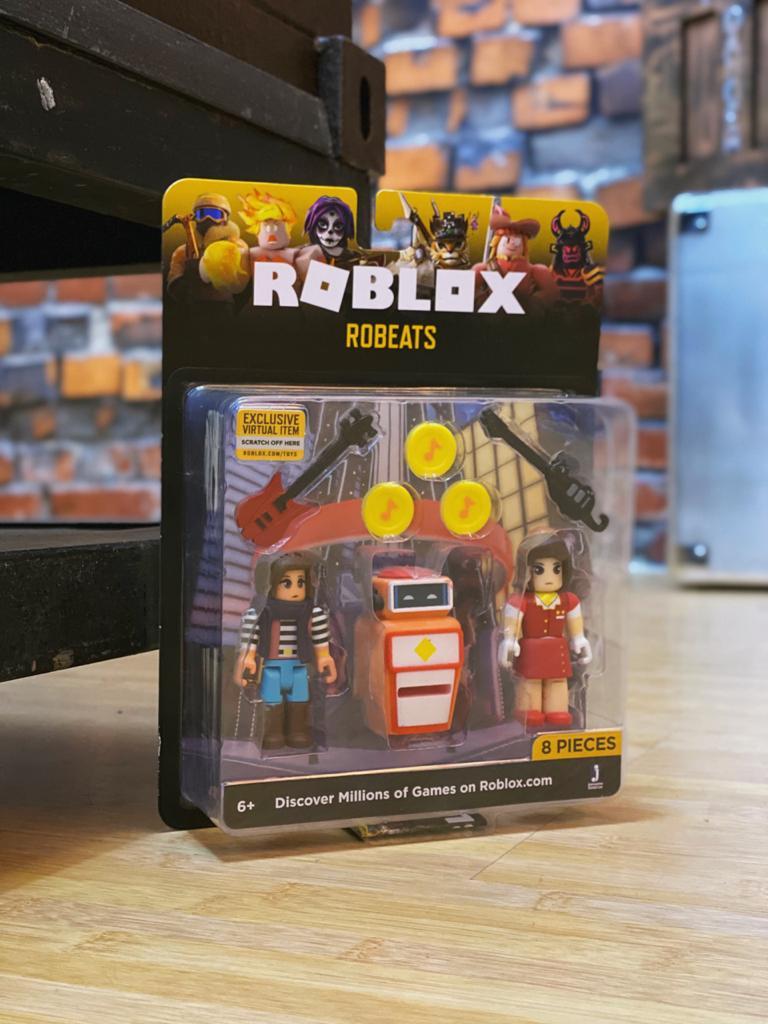 Pack Action Figure Robeats: Roblox 8 Peças - Sunny