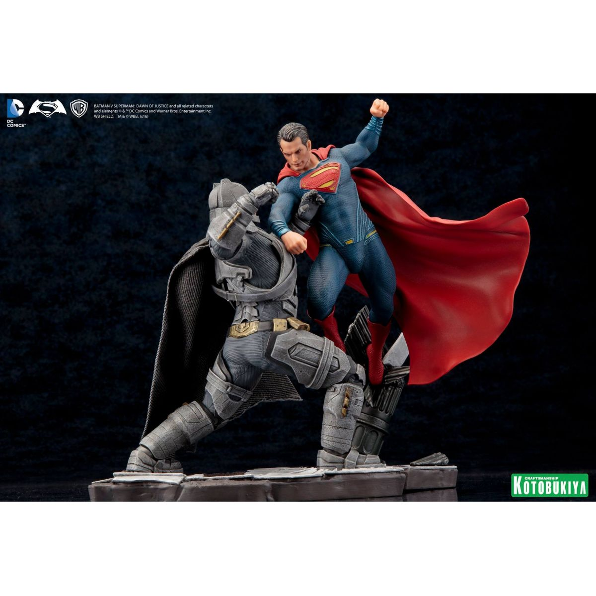 Combo Batman vs Superman Artfx - Kotobukiya