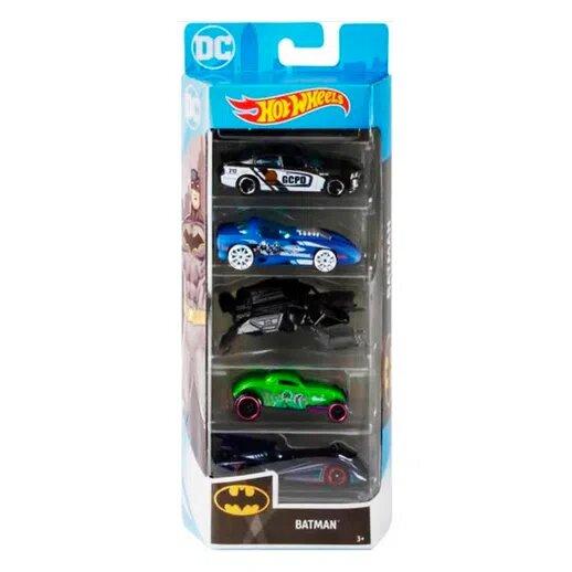 Pack Com 5 Carrinho Hot Wheels: Batman: DC Comics - Mattel  - Toyshow Geek e Colecionáveis Tudo em Marvel DC Netflix Vídeo Games